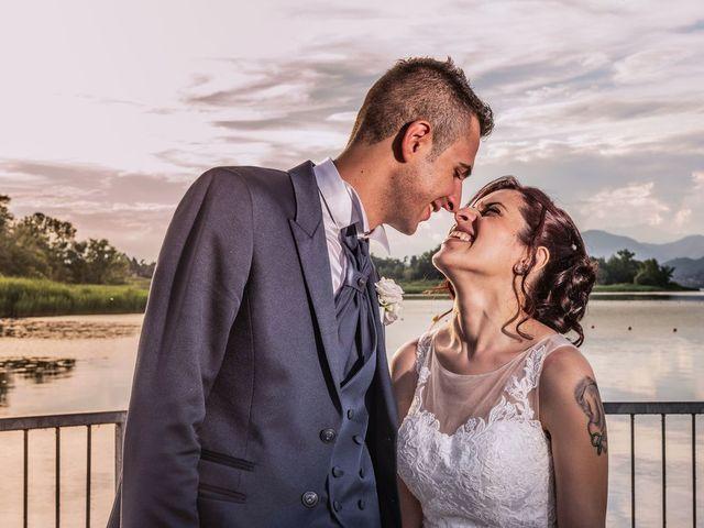 Il matrimonio di Gabriele e Elisa a Bardello, Varese 51