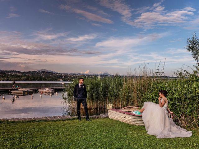 Il matrimonio di Gabriele e Elisa a Bardello, Varese 1