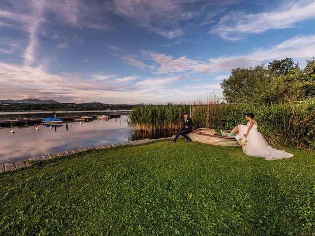 Il matrimonio di Gabriele e Elisa a Bardello, Varese 53