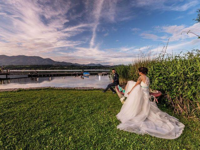 Il matrimonio di Gabriele e Elisa a Bardello, Varese 54