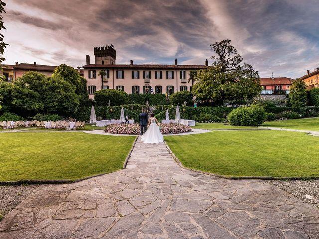 Il matrimonio di Gabriele e Elisa a Bardello, Varese 55