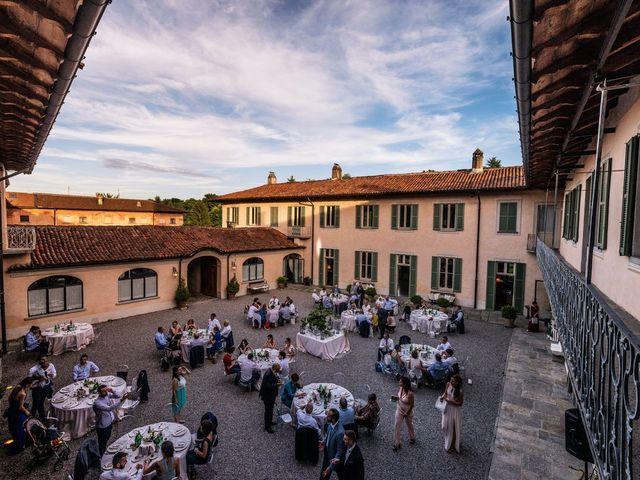 Il matrimonio di Gabriele e Elisa a Bardello, Varese 56