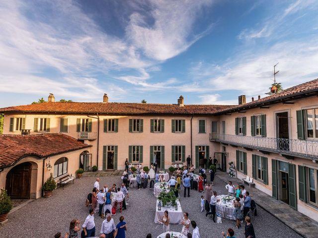 Il matrimonio di Gabriele e Elisa a Bardello, Varese 57
