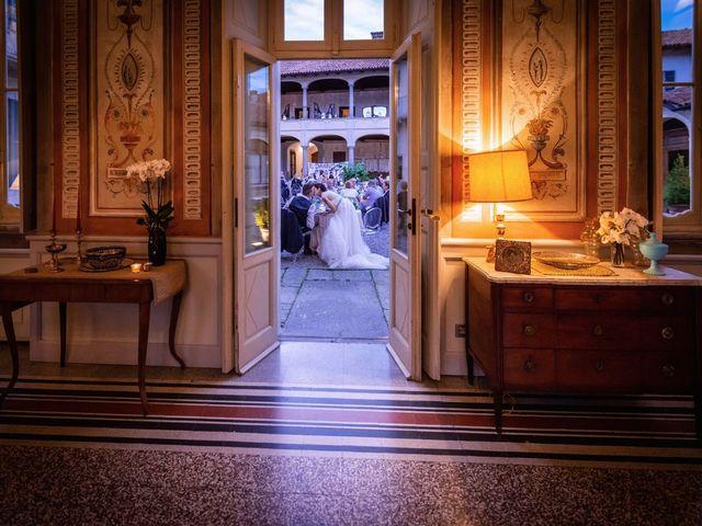 Il matrimonio di Gabriele e Elisa a Bardello, Varese 59
