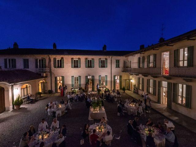 Il matrimonio di Gabriele e Elisa a Bardello, Varese 61