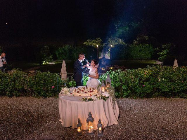 Il matrimonio di Gabriele e Elisa a Bardello, Varese 65