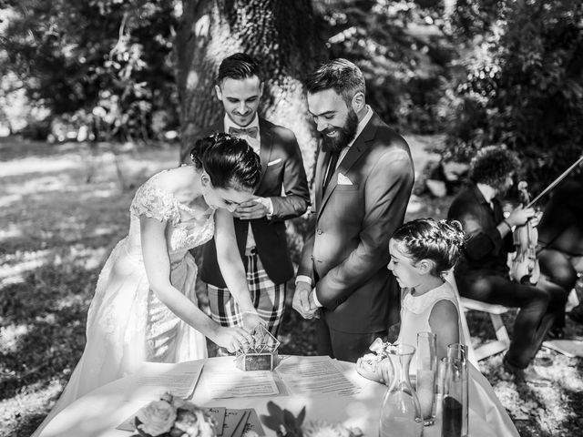 Il matrimonio di Federico e Daria a Imbersago, Lecco 61