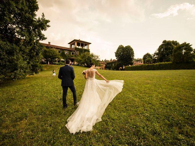 Il matrimonio di Federico e Daria a Imbersago, Lecco 90