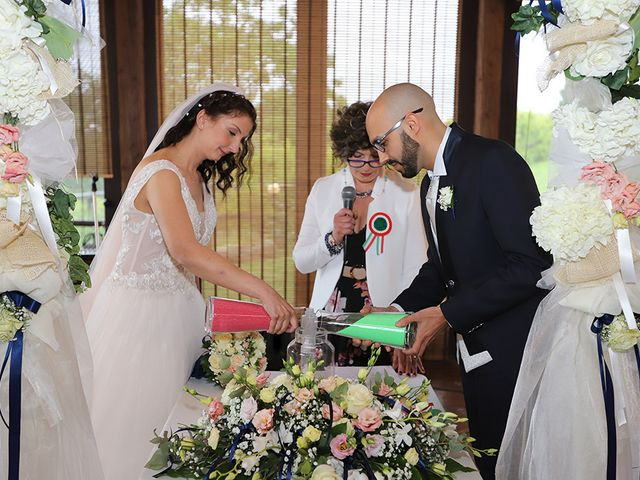 Il matrimonio di Andrea e Patrizia a Verrua Savoia, Torino 16