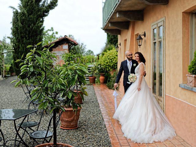 Il matrimonio di Andrea e Patrizia a Verrua Savoia, Torino 24