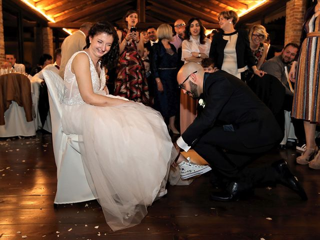 Il matrimonio di Andrea e Patrizia a Verrua Savoia, Torino 33