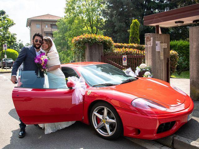Il matrimonio di Christian e Erika a Agrate Brianza, Monza e Brianza 16