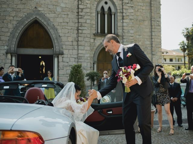 Il matrimonio di Giuseppe e Sandrine a Stresa, Verbania 24