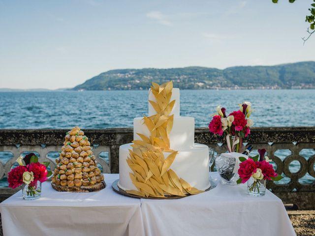 Il matrimonio di Giuseppe e Sandrine a Stresa, Verbania 67
