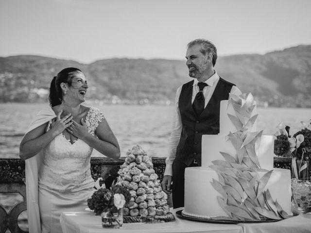 Il matrimonio di Giuseppe e Sandrine a Stresa, Verbania 69