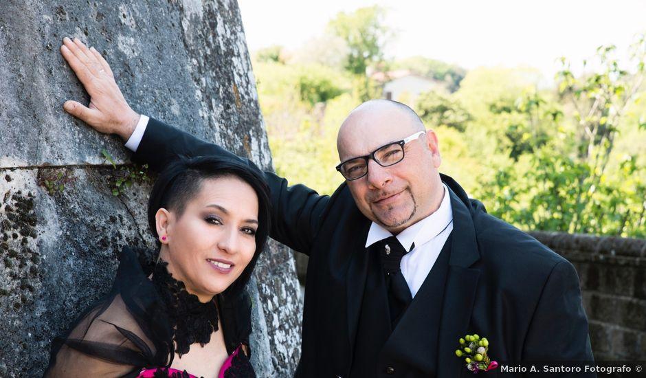 Il matrimonio di Roberto e Marisol a Civita Castellana, Viterbo