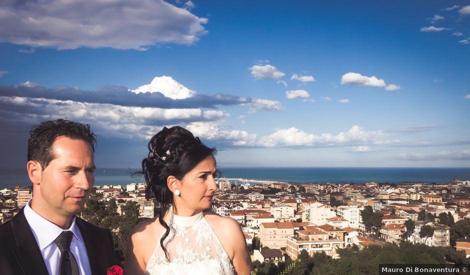 Il matrimonio di Roger e Antonella a Giulianova, Teramo