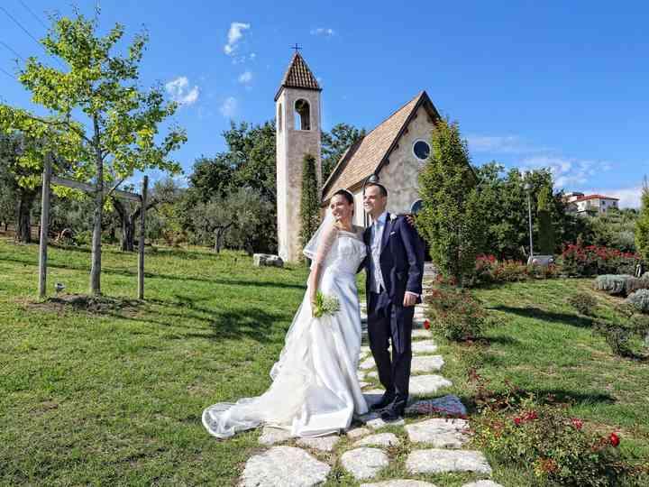 le nozze di Annamaria e Giorgio