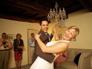 Le nozze di Christiane e Gilbert