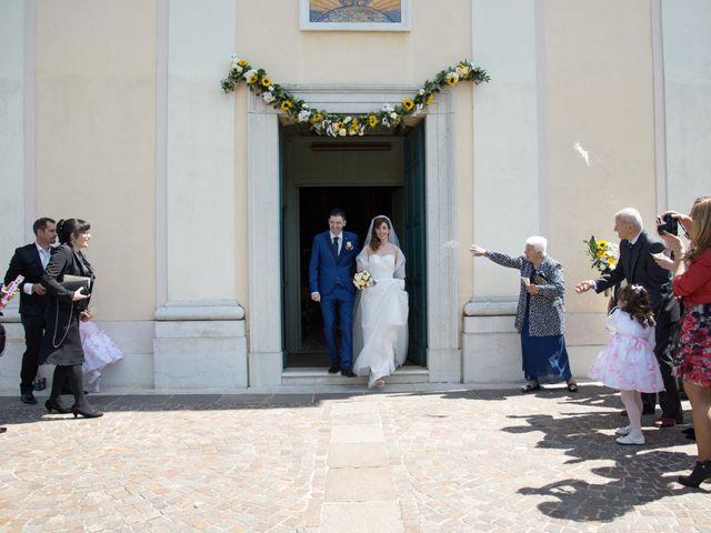 Il matrimonio di Andrea e Mariarosa a Pozzolengo, Brescia 5