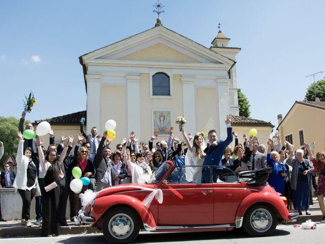 Il matrimonio di Andrea e Mariarosa a Pozzolengo, Brescia 2