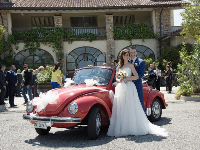 Il matrimonio di Andrea e Mariarosa a Pozzolengo, Brescia 10