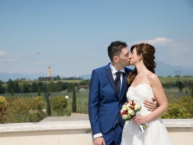 Il matrimonio di Andrea e Mariarosa a Pozzolengo, Brescia 12