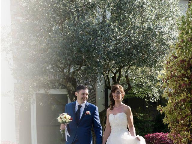 Il matrimonio di Andrea e Mariarosa a Pozzolengo, Brescia 16