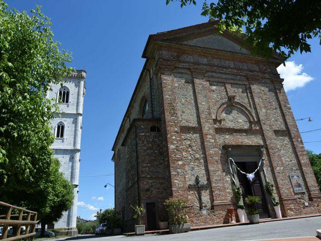 Il matrimonio di Stefano e Valentina a Pieve a Nievole, Pistoia 27