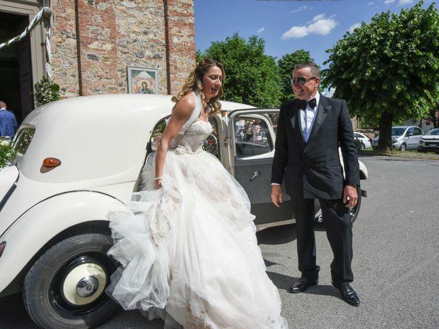 Il matrimonio di Stefano e Valentina a Pieve a Nievole, Pistoia 46