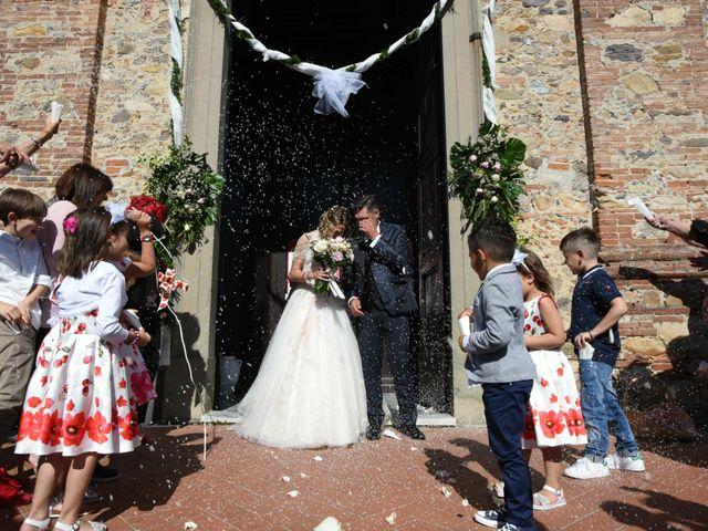 Il matrimonio di Stefano e Valentina a Pieve a Nievole, Pistoia 87