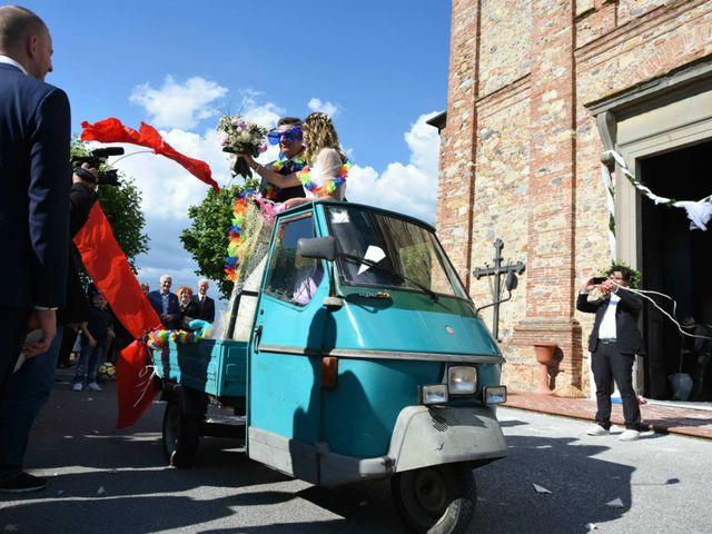 Il matrimonio di Stefano e Valentina a Pieve a Nievole, Pistoia 92