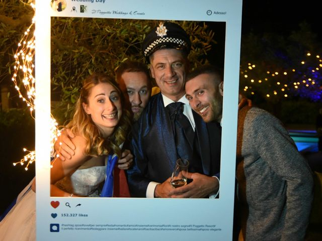 Il matrimonio di Stefano e Valentina a Pieve a Nievole, Pistoia 201
