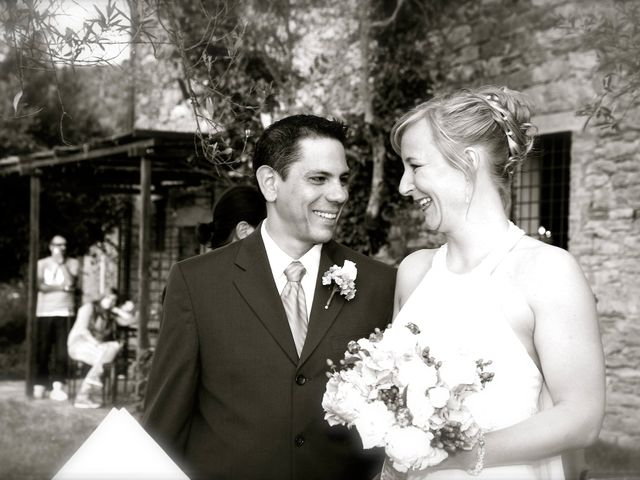 Il matrimonio di Gilbert e Christiane a Passignano sul Trasimeno, Perugia 13