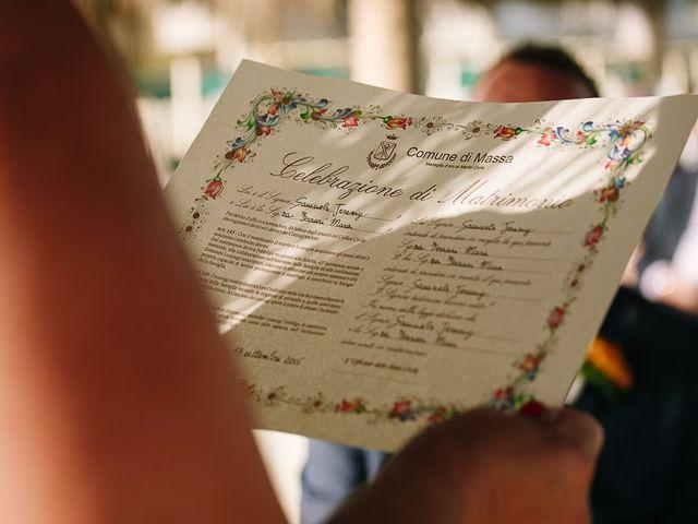 Il matrimonio di Jeremy e Mara a Forte dei Marmi, Lucca 58