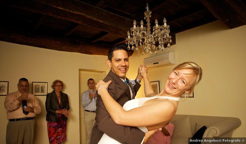 Il matrimonio di Gilbert e Christiane a Passignano sul Trasimeno, Perugia