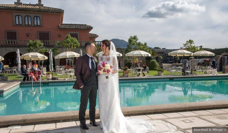 Il matrimonio di Debora e David a Grottaferrata, Roma