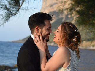 Le nozze di Sendi e Claudio
