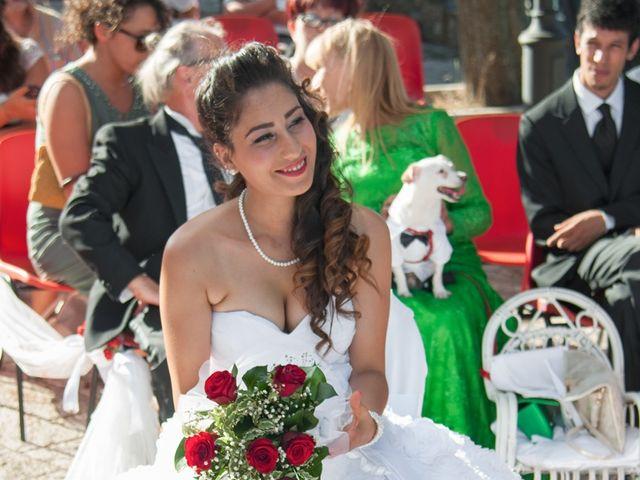 Il matrimonio di Christian e Najat a Semproniano, Grosseto 24