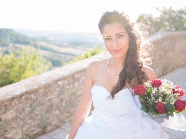 Il matrimonio di Christian e Najat a Semproniano, Grosseto 28