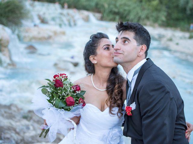 Il matrimonio di Christian e Najat a Semproniano, Grosseto 36