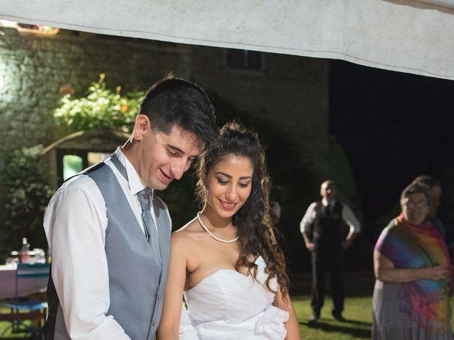Il matrimonio di Christian e Najat a Semproniano, Grosseto 41