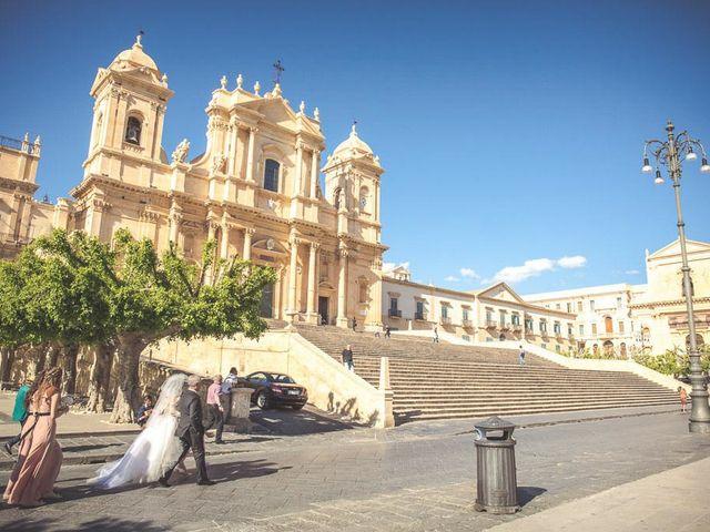 Il matrimonio di Matteo e Elide a Noto, Siracusa 9