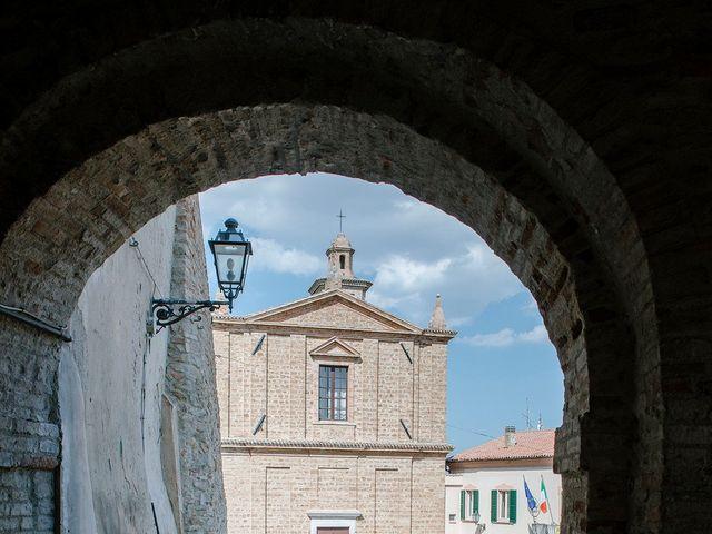 Il matrimonio di Matteo e Giovanna a Cupramontana, Ancona 3