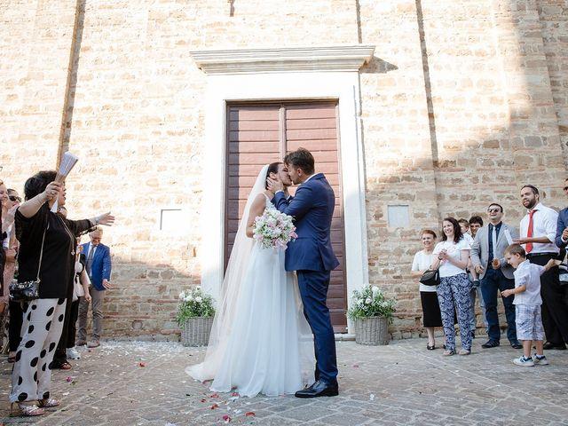 Il matrimonio di Matteo e Giovanna a Cupramontana, Ancona 18