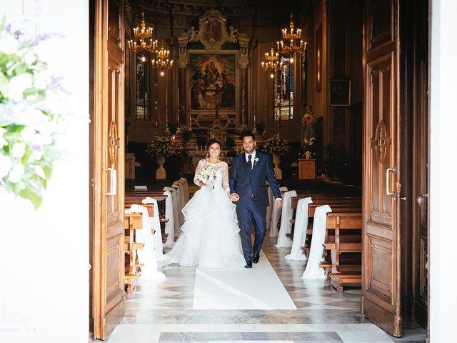Il matrimonio di Davide e Eleonora a Roè Volciano, Brescia 35
