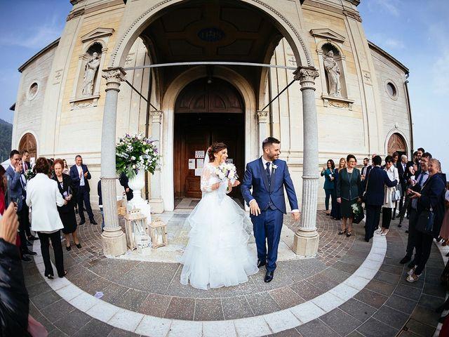 Il matrimonio di Davide e Eleonora a Roè Volciano, Brescia 37