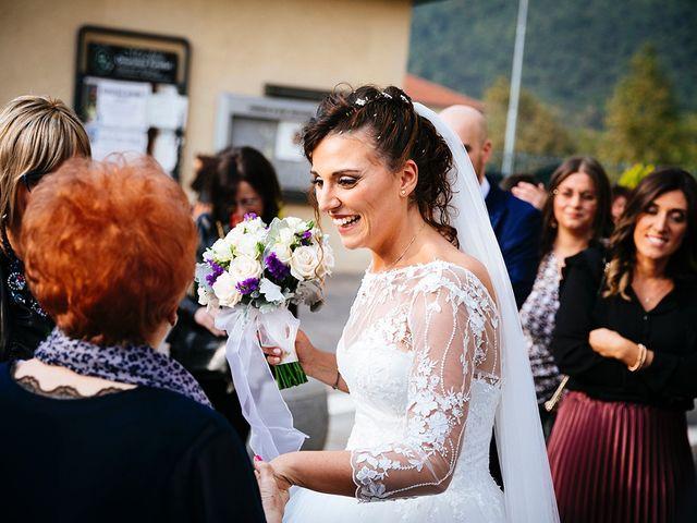 Il matrimonio di Davide e Eleonora a Roè Volciano, Brescia 39
