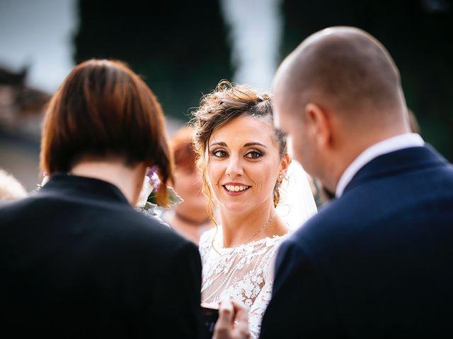 Il matrimonio di Davide e Eleonora a Roè Volciano, Brescia 40