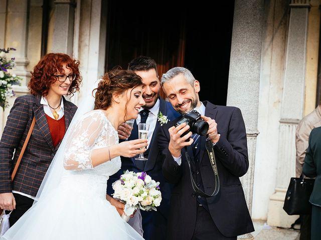 Il matrimonio di Davide e Eleonora a Roè Volciano, Brescia 41
